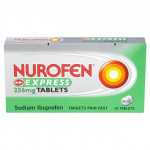 Nurofen Express 256mg 16 Liquid Capsules