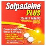 Solpadeine Plus 32 Soluble Tablets