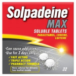 Solpadeine Max 32 Soluble Tablets